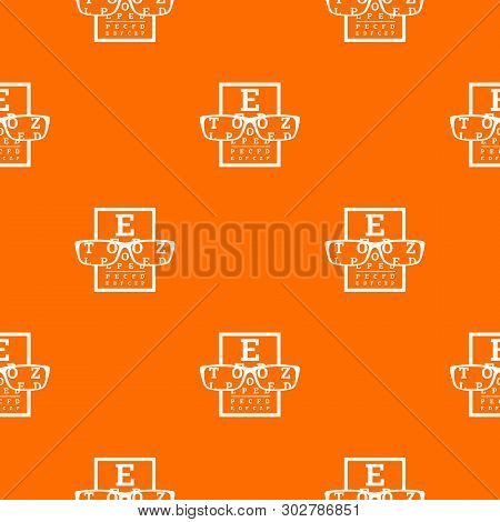 Myopia Pattern Vector Orange For Any Web Design Best