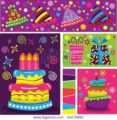 Retro Birthday Celebration