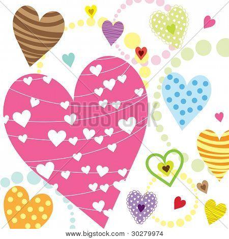 Hearts Shape Patterns