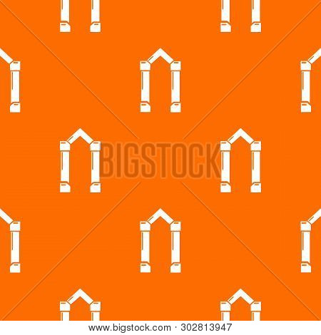 Archway Element Pattern Vector Orange For Any Web Design Best