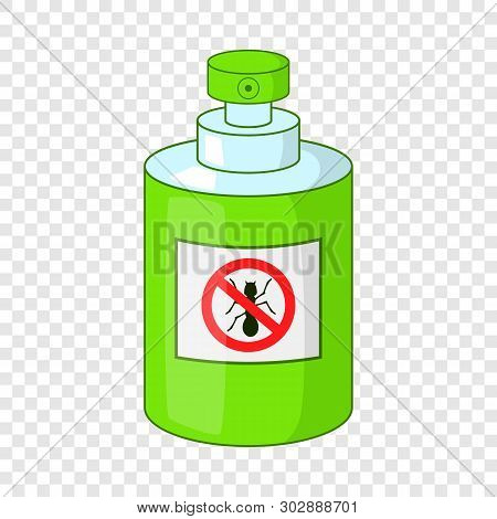Insecticide Icon. Cartoon Illustration Of Insecticide Vector Icon For Web