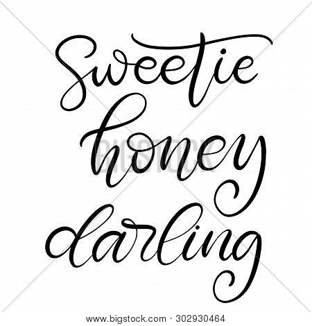 Sweetie, Honey Vector & Photo (Free Trial) | Bigstock