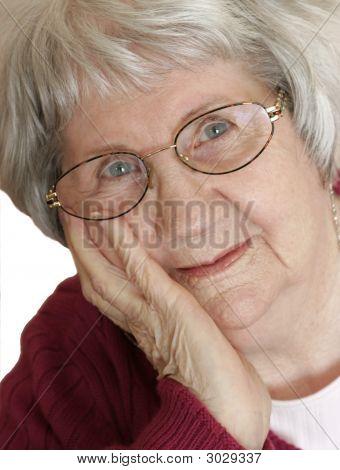Portrait Of Elderly Woman 2