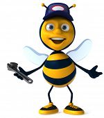 Bee worker poster