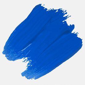 Red Brush Stroke. Paint Stroke. Grunge Hand Painted Blue Brush Strokes. Grunge Brushes. Dirty Artist