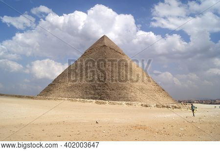Giza Pyramid Complex. Africa, Egypt. Africa Landscape
