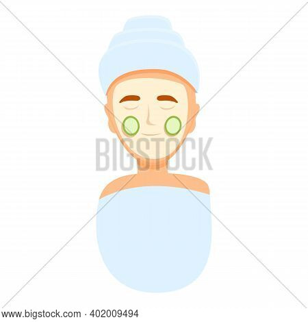 Cosmetic Self Care Icon. Cartoon Of Cosmetic Self Care Vector Icon For Web Design Isolated On White