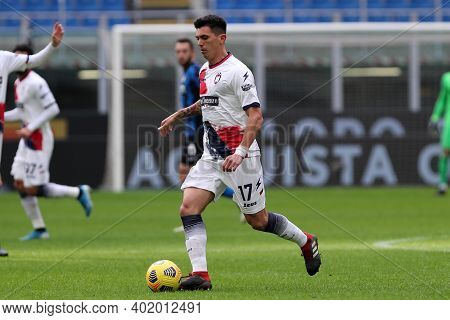 Milano, Italy. 03th January 2021. Salvatore Molina Of Fc Crotone  During The Serie A Match Between F