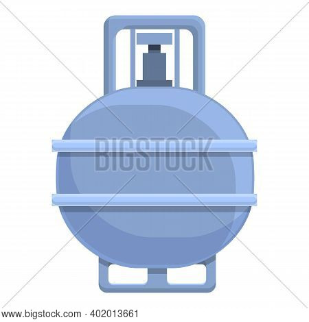 Industrial Gas Stove Icon. Cartoon Of Industrial Gas Stove Vector Icon For Web Design Isolated On Wh