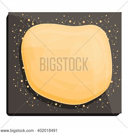 Dough Icon. Cartoon Of Dough Vector Icon For Web Design Isolated On White Background