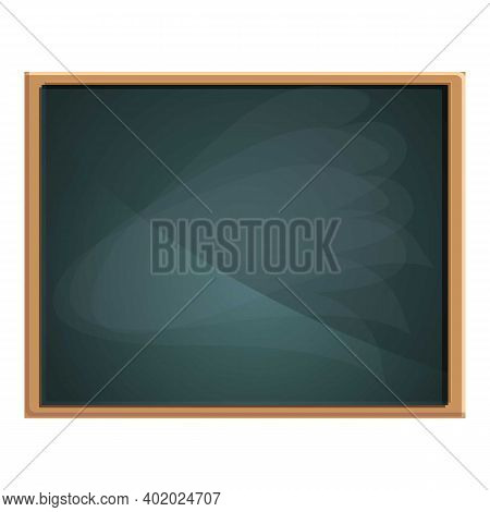 Old Chalkboard Icon. Cartoon Of Old Chalkboard Vector Icon For Web Design Isolated On White Backgrou