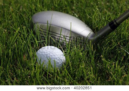 Hybrid And Ball In Rough
