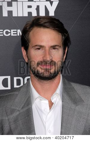 LOS ANGELES - DEC 10:  Mark Boal arrives to the 'Zero Dark Thirty' premiere at Dolby Theater on December 10, 2012 in Los Angeles, CA