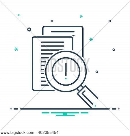 Mix Icon For Risk Evaluation Risk Evaluation Discovery Statement Verification