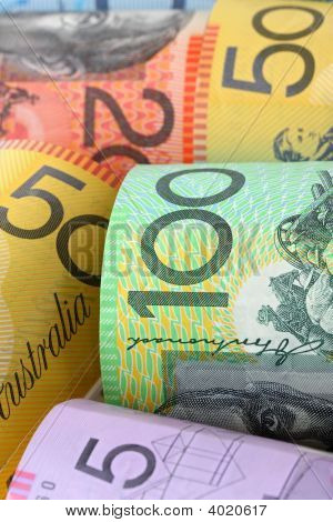 Australian Money Background
