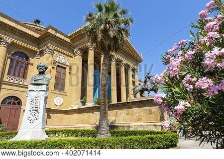 Teatro Massimo Vittorio Emanuele In Palermo