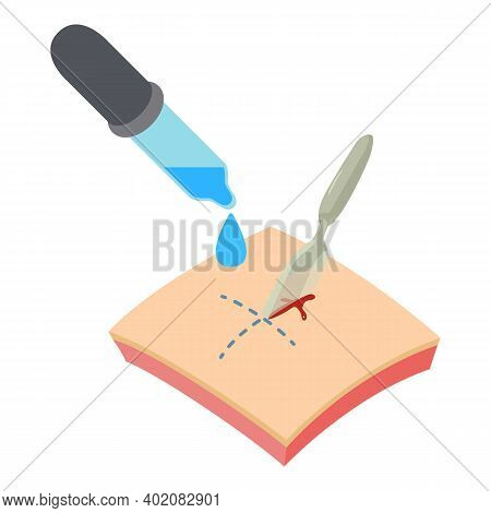 Surgery Icon. Isometric Illustration Of Surgery Vector Icon For Web