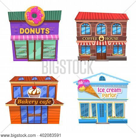 Cafe Collection, Donuts, Coffee House, Bakery Cafe, Ice Cream Parlor, Different Places For Eating, R