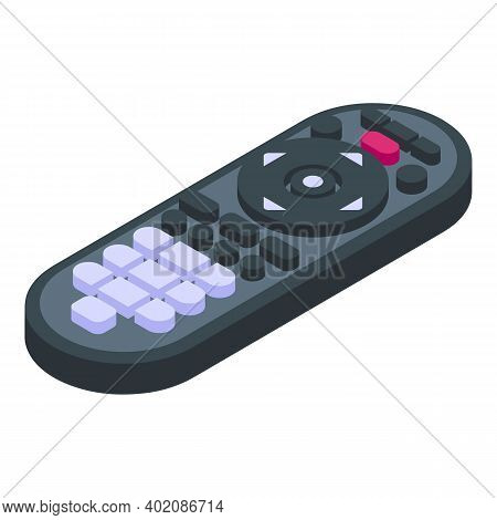 Remote Control Video Icon. Isometric Of Remote Control Video Vector Icon For Web Design Isolated On
