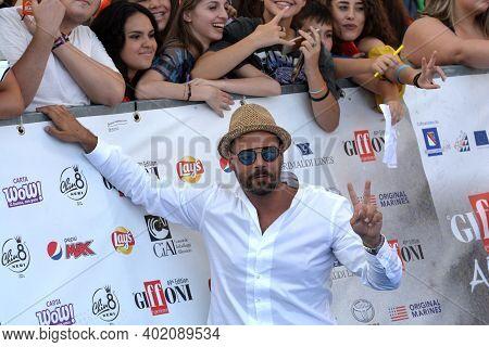 Giffoni Valle Piana, Sa, Italy - July 23, 2019 : Marco D'amore At Giffoni Film Festival 2019 - On Ju