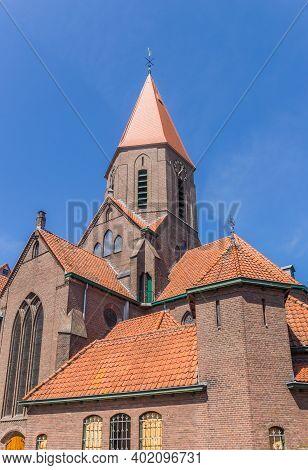 Historic Johannes De Doper Church In Montfoort, Netherlands