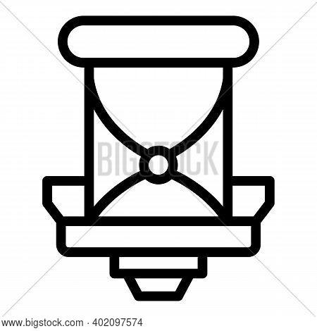 Children Bicycle Seat Orthopedic Icon. Children Bicycle Seat Orthopedic Seat Vector Icon For Web Des