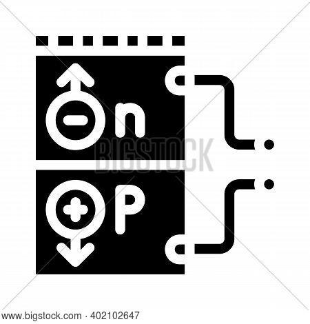 Working Principle Glyph Icon Vector Illustration Black
