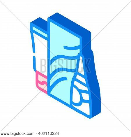 Soap And Hand Cleanser Isometric Icon Vector Illustration