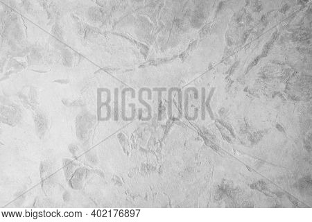 White Texture Background, Abstract Surface Of Stone Wall. Concrete Background And Granite Surface. S