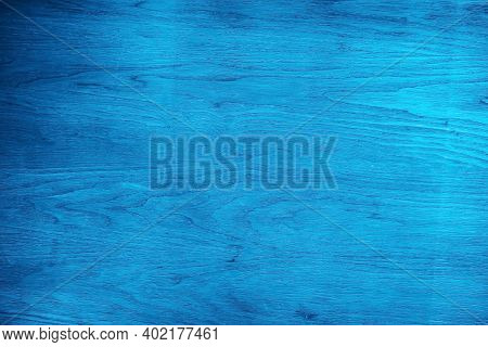 Blue Wood Texture For Background. Wooden Texture Background. Wooden Texture Old Vintage Weathered Fo