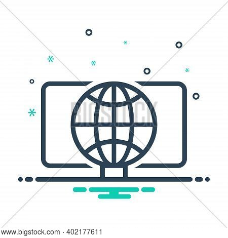 Mix Icon For Web Initiative Development Business