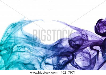 Abstract Smoke Detail