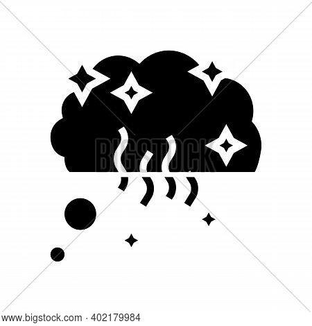 Memories And Nostalgia Glyph Icon Vector. Memories And Nostalgia Sign. Isolated Contour Symbol Black