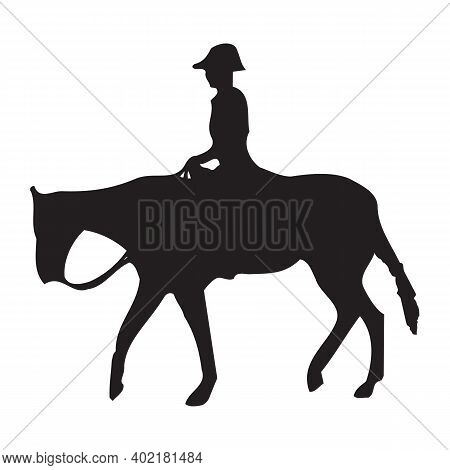 Horse Riding Icon Isolated On White Background From Activity And Hobbies Collection. Horse Riding Ic