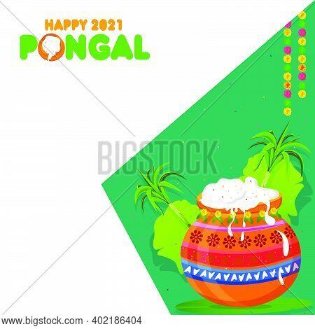 Pongal Festival Offer Banner Design, Social Media Post Templates