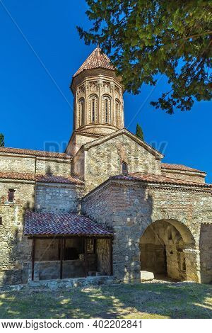 The Ikalto Monastery In The Late 6th Century  About 10 Km West Of The Town Telavi, Kakheti, Eastern