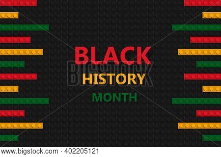 Black History Month Celebration. Banner And Poster Template. African Culture Appreciation.
