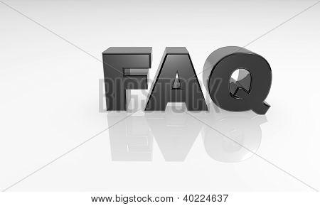 3d reflection FAQ text
