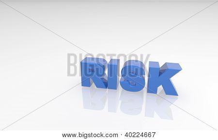 Blue Rick 3d text