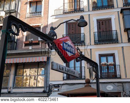 Madrid, Spain - November 28, 2016: View Of