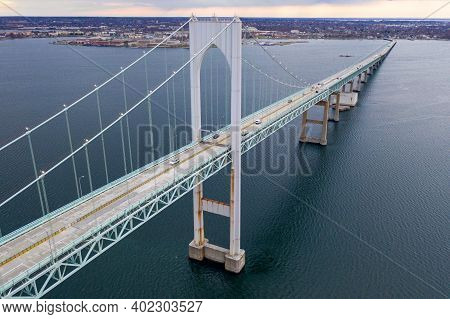 Claiborne Pell Bridge - Rhode Island