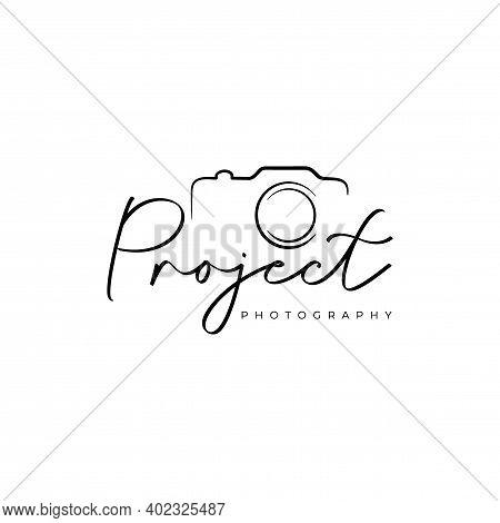 Photography Logo. Photography Studio Logo Design Vector