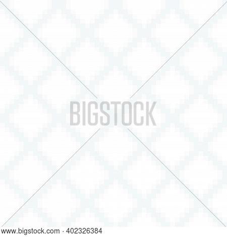 White Argyle Seamless Pattern Background