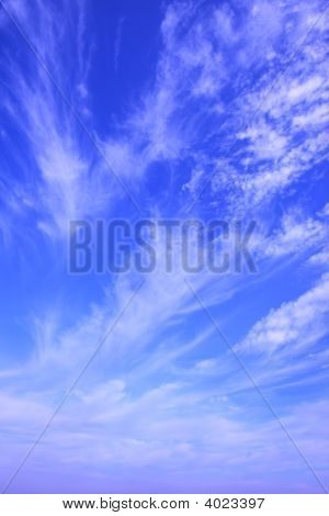 Beautiful Cloudscape great for background and texture poster