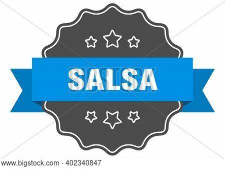 Salsa Blue Label. Salsa Isolated Seal. Salsa