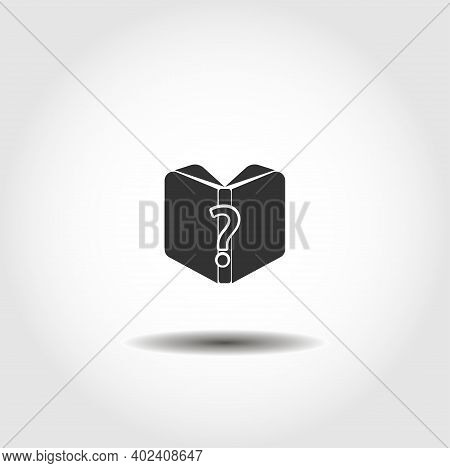 Instruction Icon. Manual Book Symbol. Read Before Use Isolated Vector Icon. Instruction Design Eleme