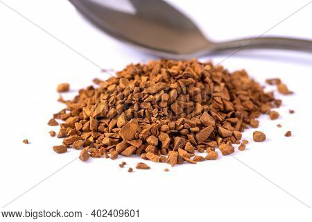 A Bunch Of Natural Soluble Freeze Dried Coffee