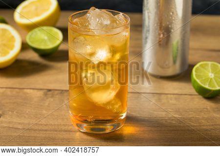 Refreshing Cold Ginger Beer Drink