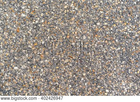 Abstract Background, Gravel Texture Or Gravel Background