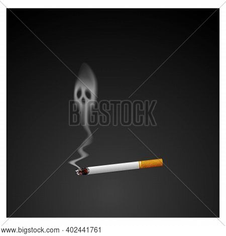 No Smoking Icon Isolated On White Background From Public Services Collection. No Smoking Icon Trendy